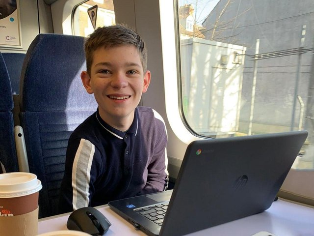 Harry Burr, 13, wants to revive Weedon Bec Railway Station