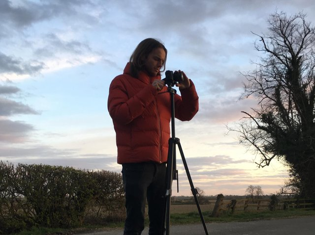 Isaac Williams was inspired by the Northamptonshire landscape to create a short film.