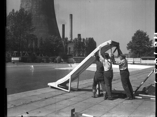Northampton did have a lido until the 1980s.