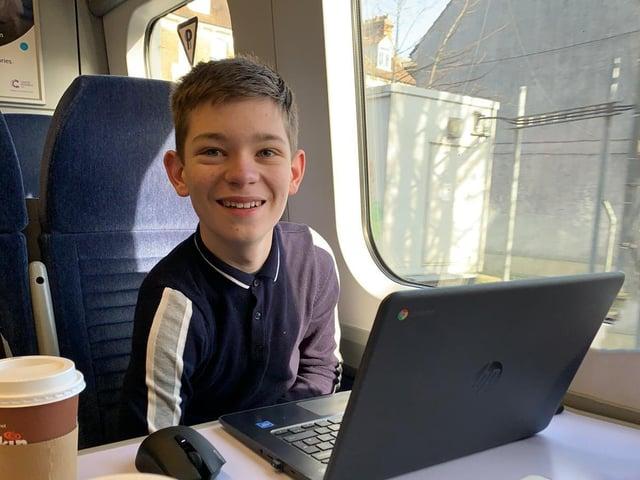 Harry Burr, 14