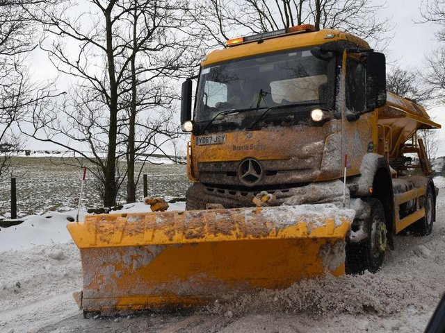 Northamptonshire's 20 gritters are on standby for whenever the cold weather hits. Photo: Getty Images