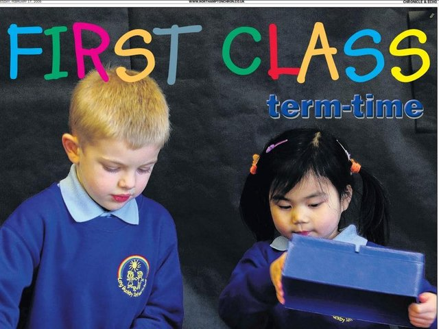 The First Class supplement appeared in Term-time