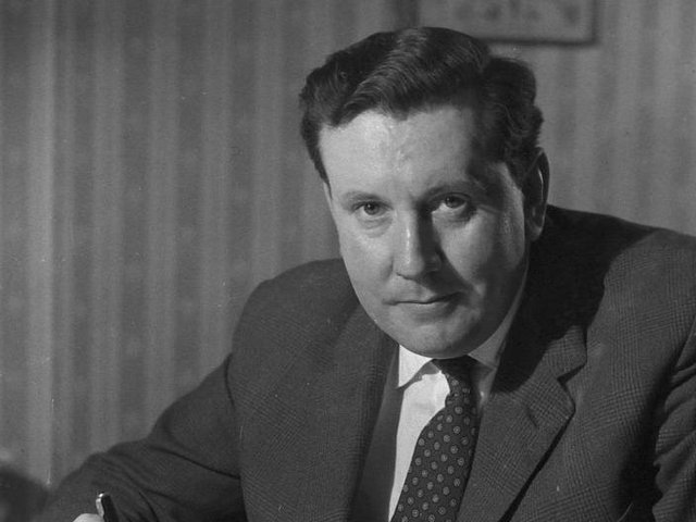Sir Malcolm Arnold, pictured in 1958.
