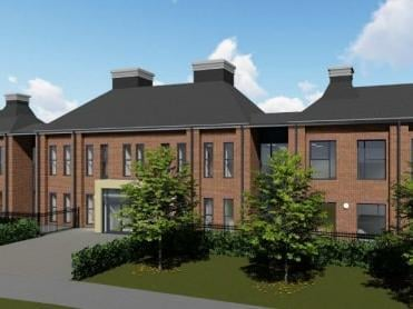 An artist's impression of how the new primary school will look.