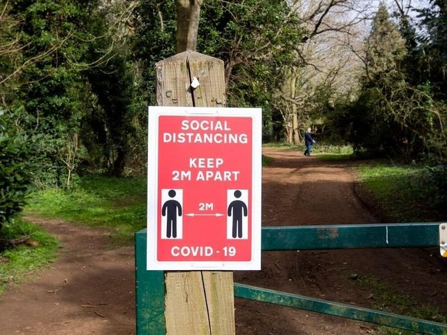 Breaches of COVID guidelines are being recorded as 'anti-social behaviour'.
