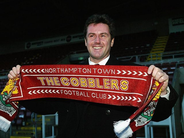 Terry Fenwick replaced Kevan Broadhurst as Cobblers boss (Picture: Pete Norton)