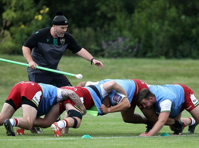 Matt Ferguson has had to get used to a new way of scrum coaching