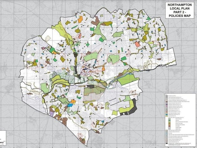 The council has set out dozens of sites for development as part of its Local Plan
