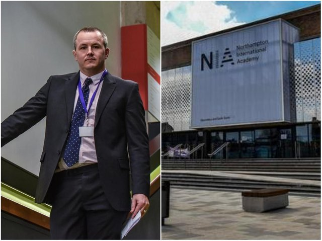 The former headteacher of Northampton International Academy sent a scathing letter of criticism to the school's trust on his last day last year.