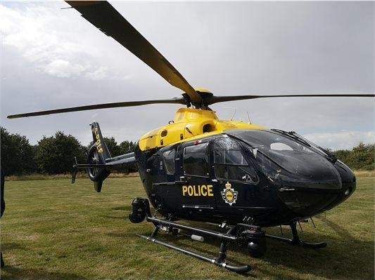 Police helicopter was scrambled to help in the search for a vulnerable Daventry woman