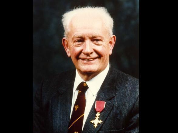 Professor John Mallard was awarded an OBE in 1992. Photo courtesy of the University of Aberdeen