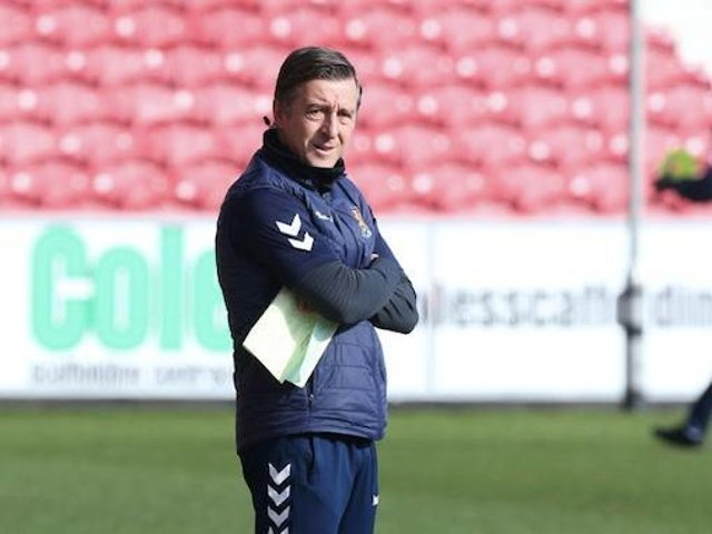 Jon Brady has taken charge of five matches since replacing Keith Curle.