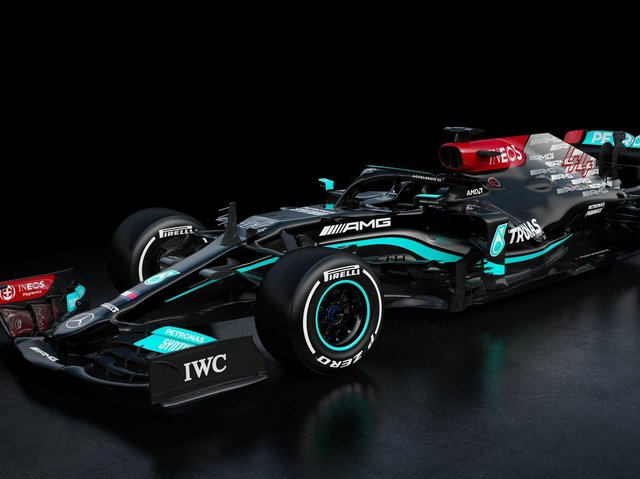 The new Mercedes W12