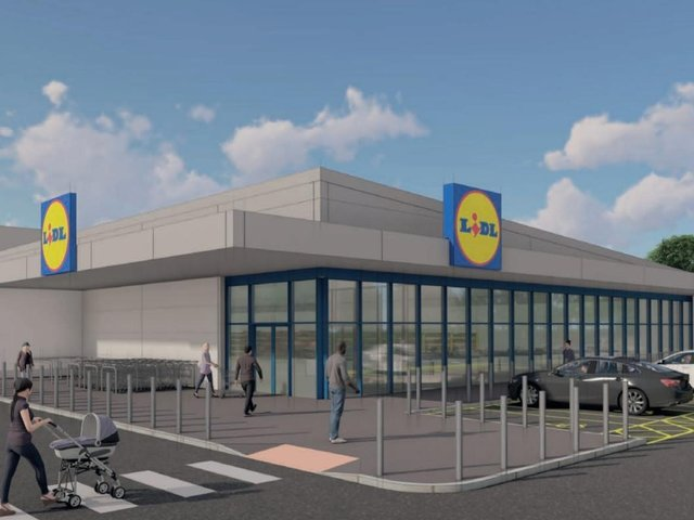 This is what the Lidl store could look like