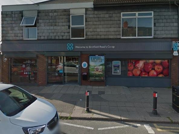 A man attempted to steal 'numerous' bottles of wine from the Birchfield Road Co-op in Northampton.
