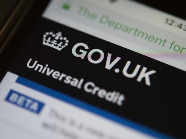 Tens of thousands of people signed up to Universal Credit at the beginning of the first lockdown. Image by BBC.