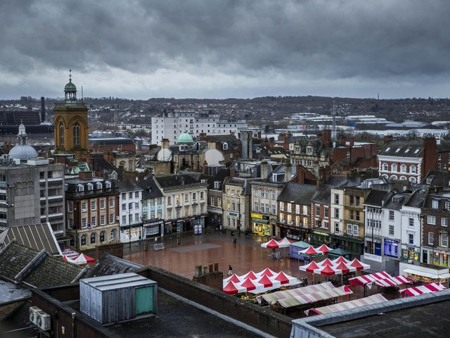 The government will be giving £25 million to support the redevelopment of Northampton town centre