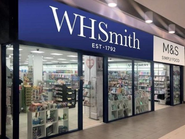 Marks and Spencer has left the WHSmith outlet in Northampton town centre after eight months.