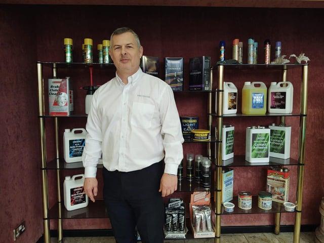 Neil Hyett,UK Sales Manager ofMiswaChemicals