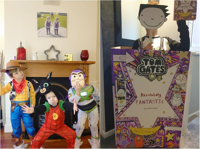 Northampton children have transformed overnight into their favourite literature characters.
