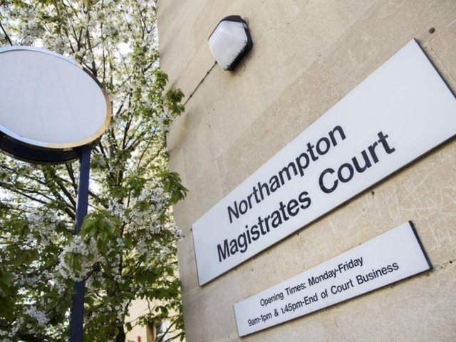 Wykes appeared at Northampton Magistrates' Court yesterday.
