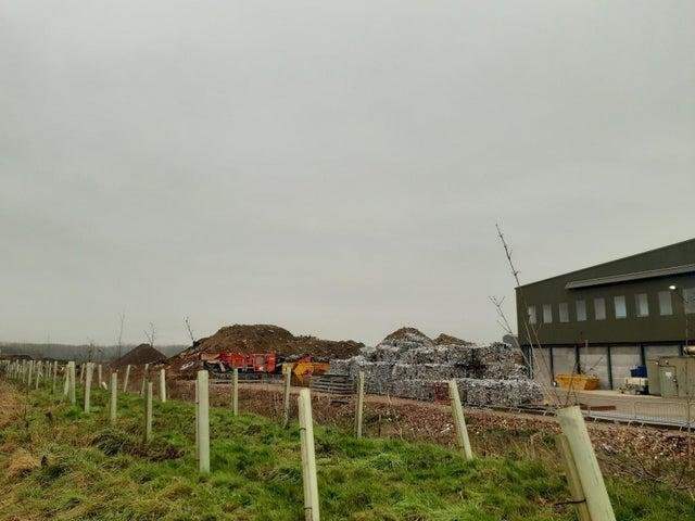 The Mick George waste recycling centre warehouse