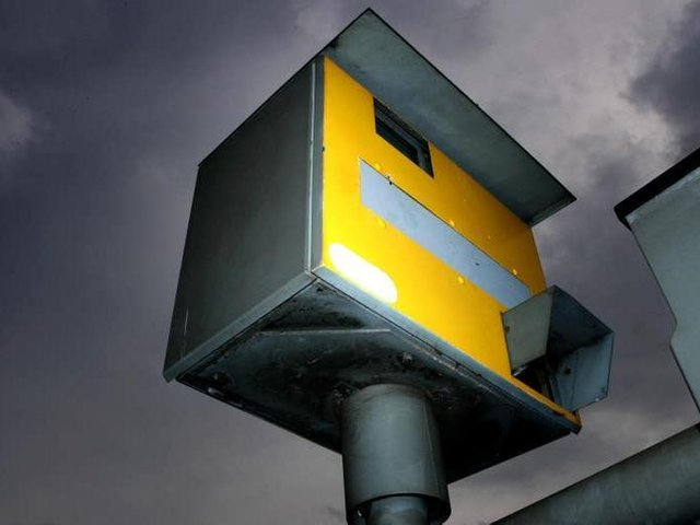 Speed camera, library picture