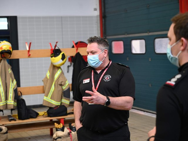 Northamptonshire Chief Fire Officer Darren Dovey