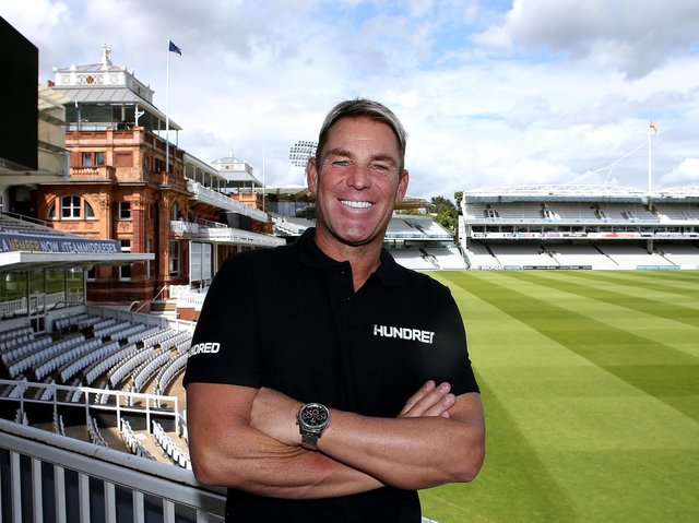 Shane Warne will be the head coach of London Spirit in The Hundred
