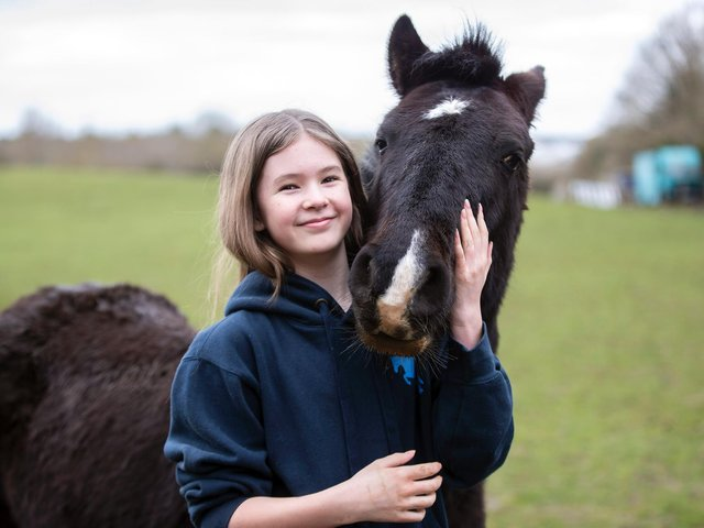Francesca Gibson almost lost her 'best friend' Pingu to colic brought on by members of the public feeding him incorrectly.