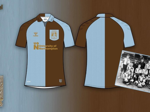 The special 125th kit to be worn at a home fixture next year.
