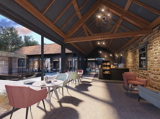 The company hopes to bring the 'outside in' with the extensive renovation.