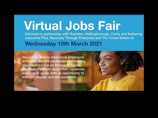 The jobs fair is on Wednesday