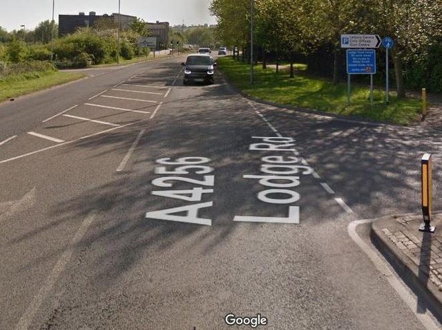 The crash happened in March last year at the junction of Eastern Way and Lodge Road in Daventry