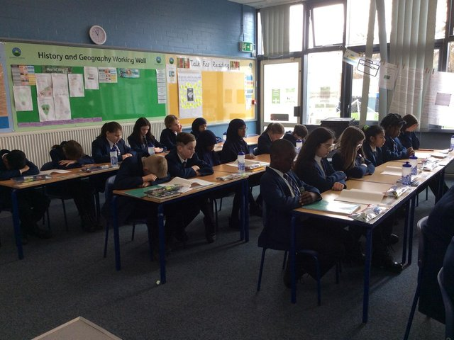 Eastfield Academy pupils back in the classroom after the third coronavirus lockdown