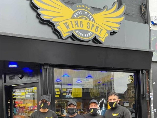 The Wing Spot team