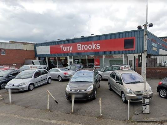 Tony Brooks has been in its current location for nearly 40 years.