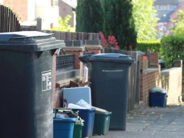 Residents in Northampton produce more than 350kg of waste each in a year, figures reveal. Library picture