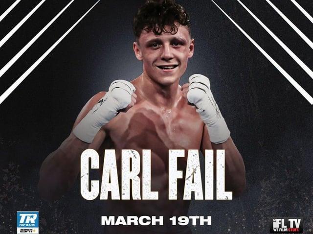Northampton boxer Carl Fail makes his professional debut on Friday night