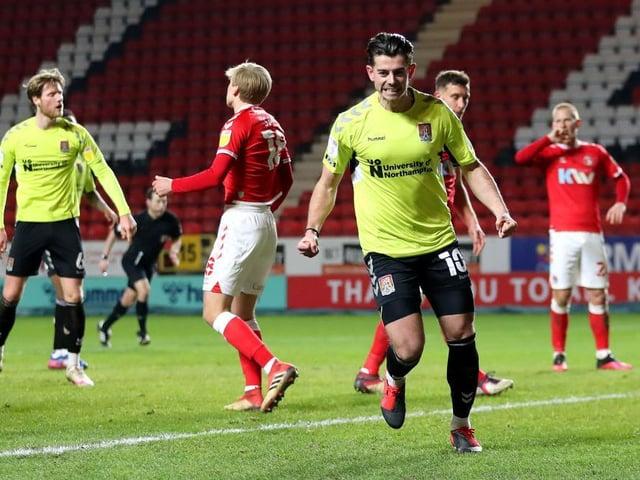 Alex Jones celebrates his debut goal in midweek. Picture: Getty.
