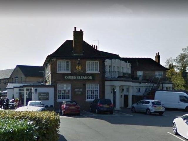 The Queen Eleanor pub in Wootton will be one of the 12 Greene King pubs reopening in Northamptonshire.