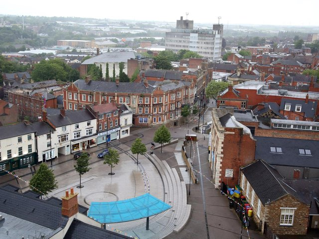 Kettering town centre. Image: JPI Media.