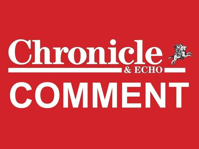 Chronicle & Echo comment