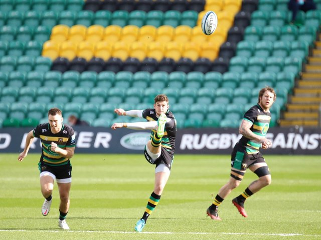 James Grayson shone at fly-half (pictures: Peter Short)