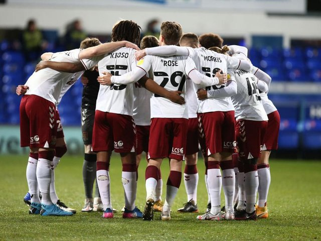 Cobblers look to be in a six-way battle to avoid the four relegation spots.