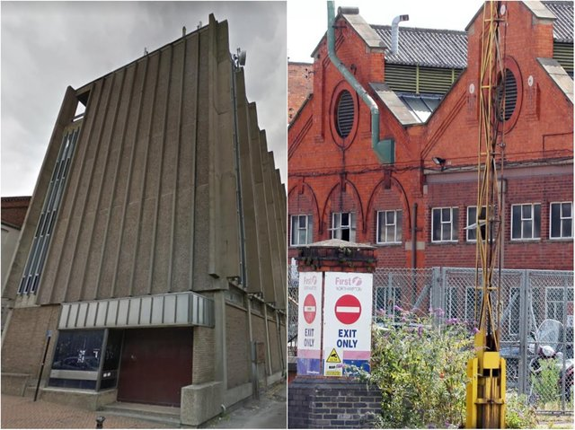 The BT Telephone Exchange in Wellingborough and the St James former First bus depot are among the buildings readers want removing from the townscapes.