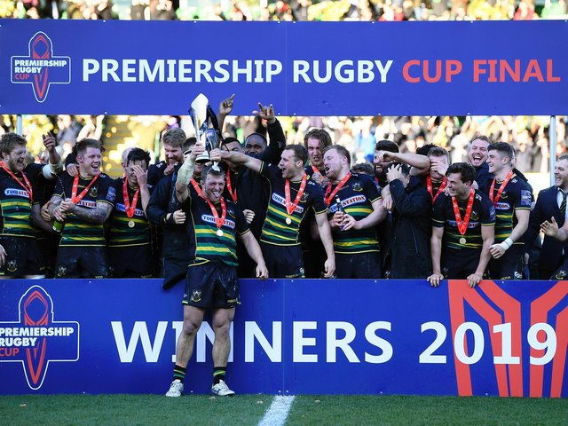 Saints won the Premiership Rugby Cup in 2019