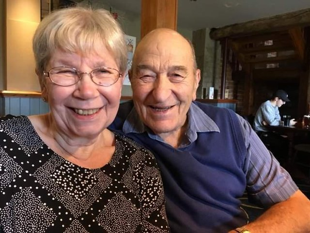When they were young lovebirds, Gill and Graham used to cycle between Rothersthorpe and Pitsford just to see each other.