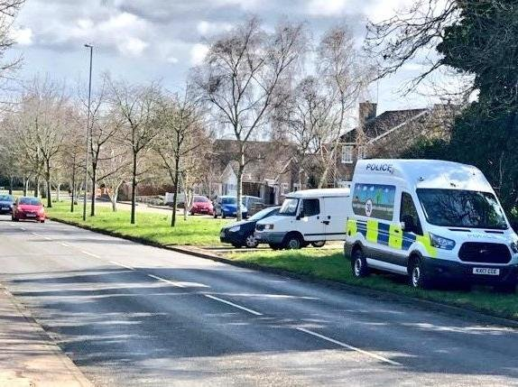 Police snapped 83 drivers committing offences on Monday's first visit to Harlestone Road. Photo: @northants_SRT