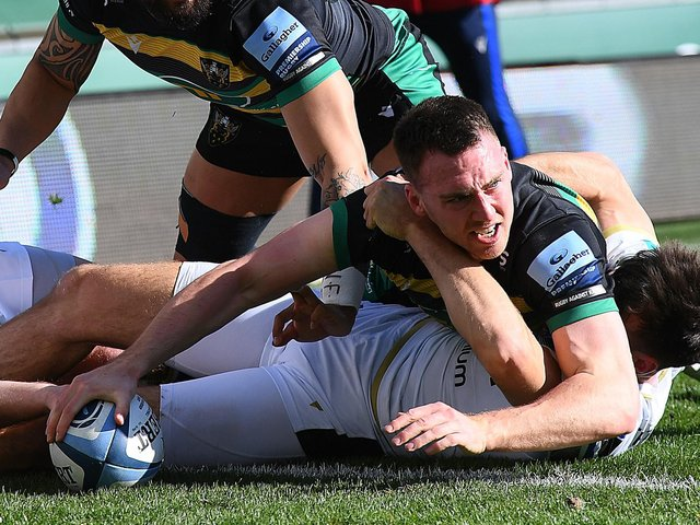 Tom James has scored four tries in 10 appearances for Saints